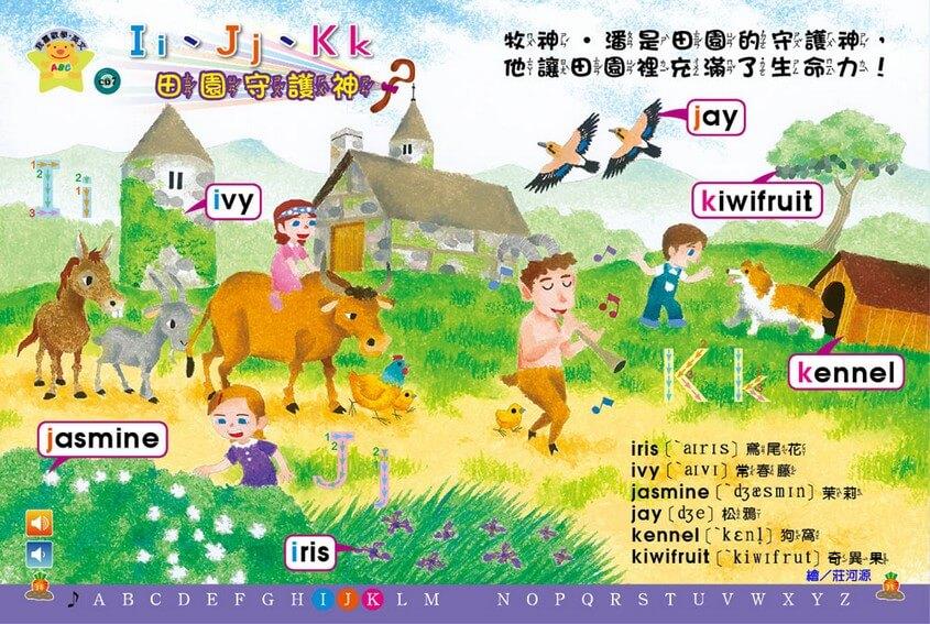 我喜歡學‧英文 IJK