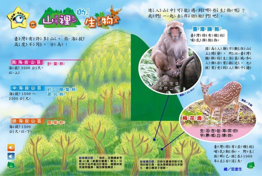 我認識‧奇妙的生物:山裡的生物 全國兒童樂園 小飛蛙月刊 no.314 期出刊囉!